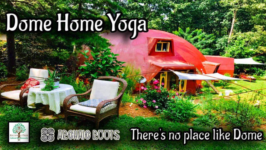yoga, lakemont, dome home, monolithic dome, nature, pranayama, rabun county, fitness, meditation, yin yoga, pranayama, journaling, breathwork, healthy food